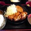 明石八 - 料理写真:唐揚げ定食