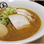 東京煮干し らーめん玉 - 抜群煮干しらーめん 1000円 ニガミもエグミもありますがそれ以上に旨味が強い♪