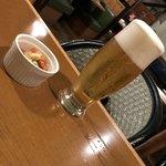 VILLA ROSSO TRE - アサヒ熟撰生ビール500円(税別)