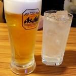 99584364 - ビール&レモンハイ