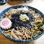 寿々喜 そば店 - 料理写真:おろしたてわさびがツーン!わさびそば。