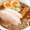 なかた屋 - 料理写真:背あぶら濃厚魚介中華(中)♪+煮玉子