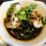 99587080 - 魚醤スープの深い味わい!白身魚も新鮮でベストな蒸し加減(о´∀`о)美味しい!!!