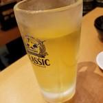 八重洲居酒場商店 - 緑茶ハイ 160円