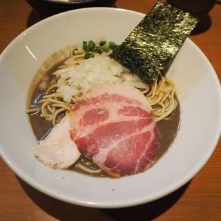亀戸煮干中華蕎麦つきひ - 料理写真:濃厚蕎麦800円