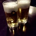 あひる - 生ビール