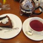 9959279 - 「ショコラ クラシック」と「フルーツティー」