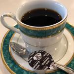 喫茶まりも - ホットコーヒー添えました…