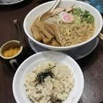 99595305 - 煮干めし&味噌中華