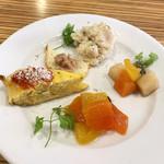 La ZAPPA - ランチセットの前菜盛り合わせ