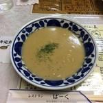 レストランばーく - コーンポタージュスープ