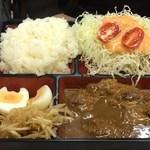 レストランばーく - Bセット(ハンバーグ)オリジナル味噌