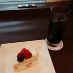 マウナケア - ショートケーキ ドリンクセット(アイスコーヒー)