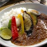 エフェメール - 彩り野菜のカレーライス