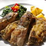 エフェメール - 鶏肉のハーブ焼き