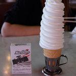 マルカンデパート大食堂 - ソフトクリーム 140円