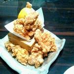 手作り料理と地酒 おと - 鶏の唐揚げ