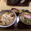 川辺 - 料理写真:かつ丼セット 750円