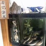 99602214 - こちらは鹿児島産のウナギ。こちらのお重は3000円です。
