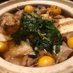 個室居酒屋 とり澄 - モツ鍋
