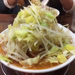 げんちゃんらーめん - 2019年1月。辛豚ラーメン野菜マシ800円。