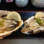 幸寿司 - 生牡蠣