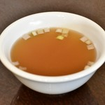 錦福 香港美食 - 【香港式焼物3種盛りセット@1,300円】スープ