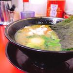 99608122 - ラーメン700円 麺少なめ 味付け卵サービス