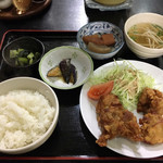 中国料理 大徳 - から揚げ定食 850円