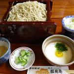 手打ちそば 松月庵 - 味くらべ1260円(うどんと蕎麦を同時に提供でなく、希望を聞いてくれると嬉しいかも)