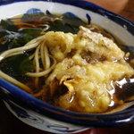 手打ちそば 松月庵 - 松茸ご飯セットの蕎麦