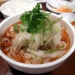 唐朝刀削麺 - ペペロンチーノ風ユーポー刀削麺
