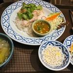 ラーンナー タイレストラン - カオマンガイ
