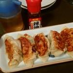 いろり - 自家製いろり焼き餃子¥580-