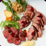 ボリューム満点お肉3種盛り