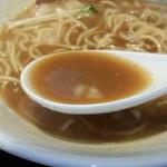 麺屋 睡蓮 - スープ