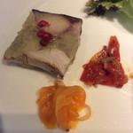 99612068 - 鯖と安納芋のプレッセ