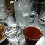 99614187 - 「難波屋トマ酎」※焼酎のトマト割り