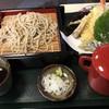 そば処 花鳥野 - 料理写真:天ぷらせいろ