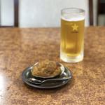 99619947 - 焼きうに、生ビール