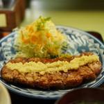 鉢の木 - 料理写真:すりおろしの生姜がダイレクトにのってます!
