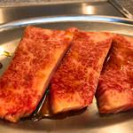 焼肉かすが - ◆特上カルビ 990円