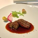 レストラン・ブリーズ・ヴェール - オーストラリア産 牛フィレのグリル マデラソース