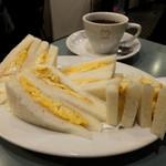 ハトヤ - 玉子サンド&コーヒー