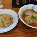 99626799 - 炒飯(2/3)&ラーメン