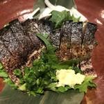 博多もつ鍋 やまや - 炙りトロ鯖盛りあわせ