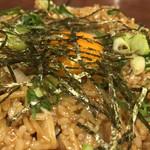 広島焼 HIDE坊 - そば飯