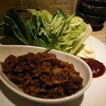 AGARU - 牛肉甘辛レタス巻きサラダ