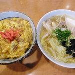 炭焼き すみれ - にゅう麺セット