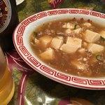 友来軒 - 料理写真:マーボー豆腐